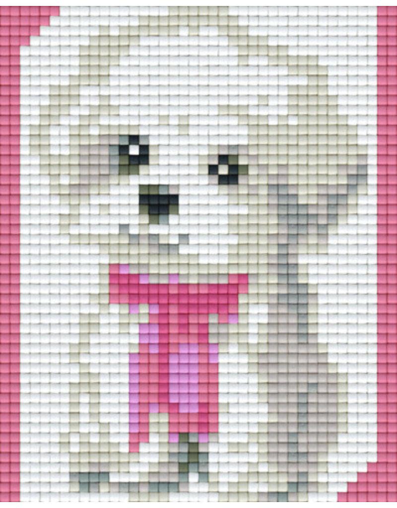 Pixel hobby Pixel mosaic set Hondje