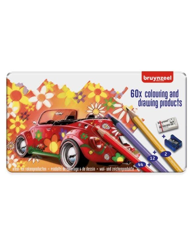Bruynzeel Keverdoos kleurpotloden set