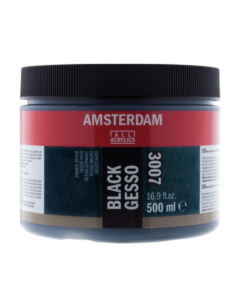 Amsterdam Gesso primer zwart