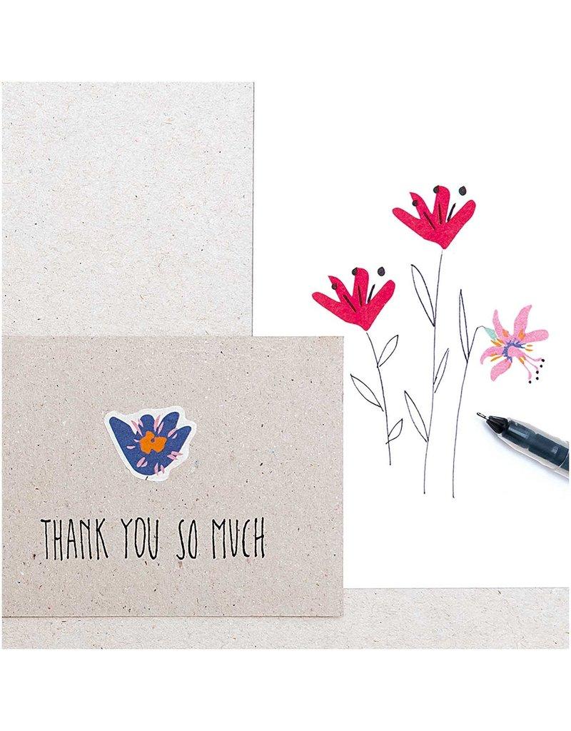 Rico Design Wasi tape bloemen