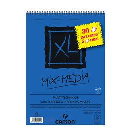 Canson Mix-media XL A3 300gr 30+5gratis