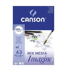 Canson Mix media imagine A3 200gr