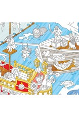 OMY Coloring poster - pirates - 100x70