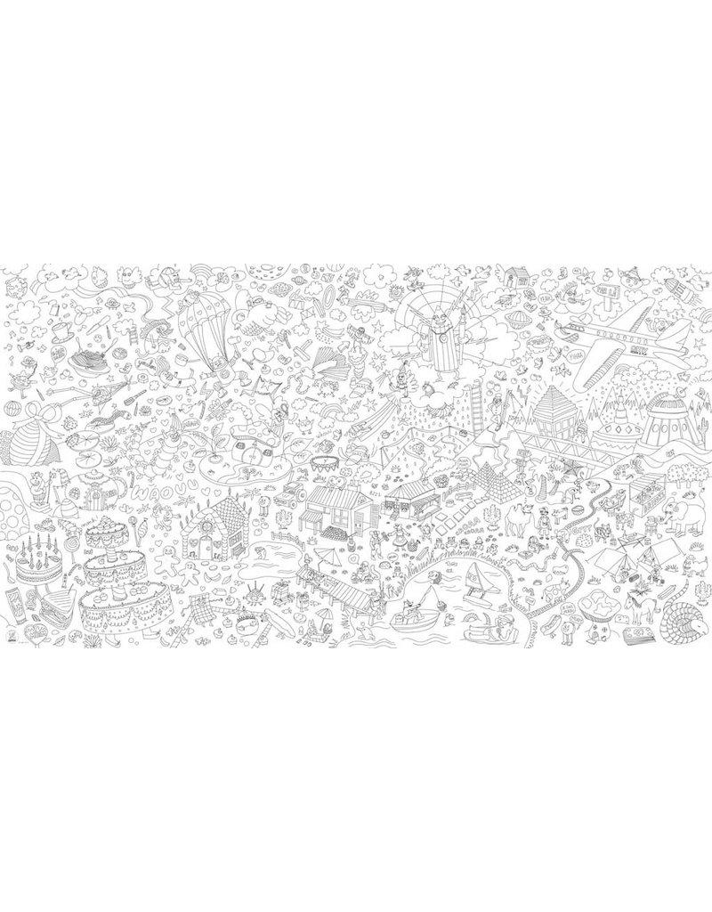OMY coloring xxl - fantastic - 180x100