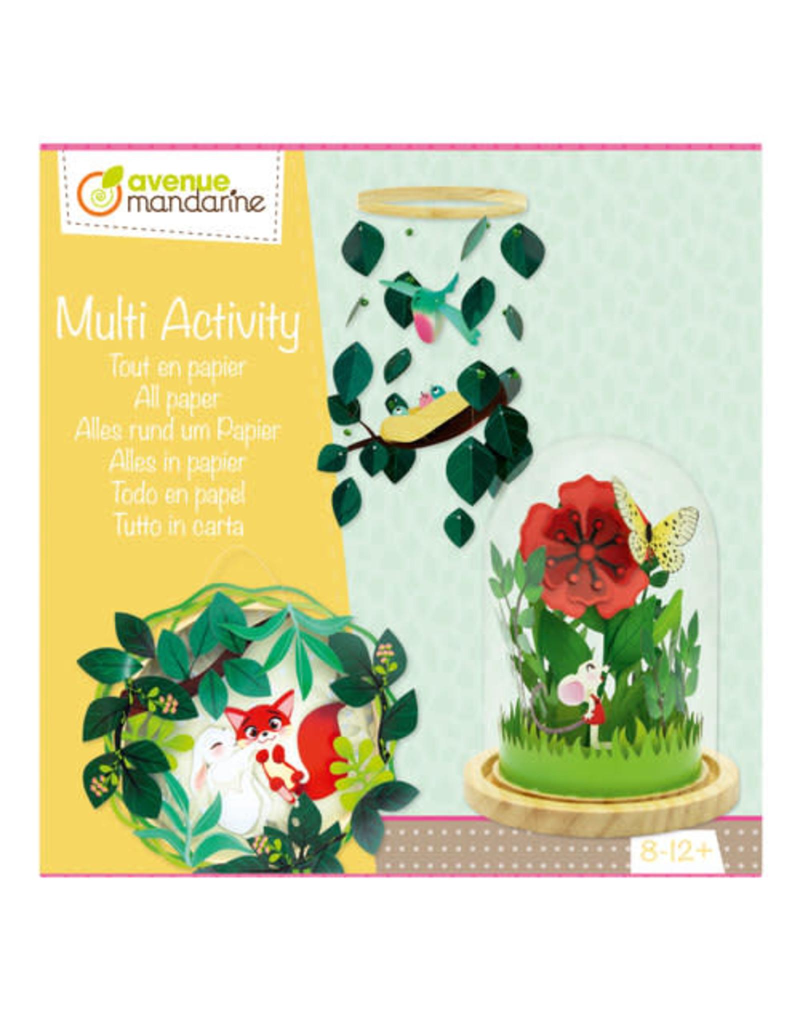 Avenue Mandarine Multi Activity Alles in papier