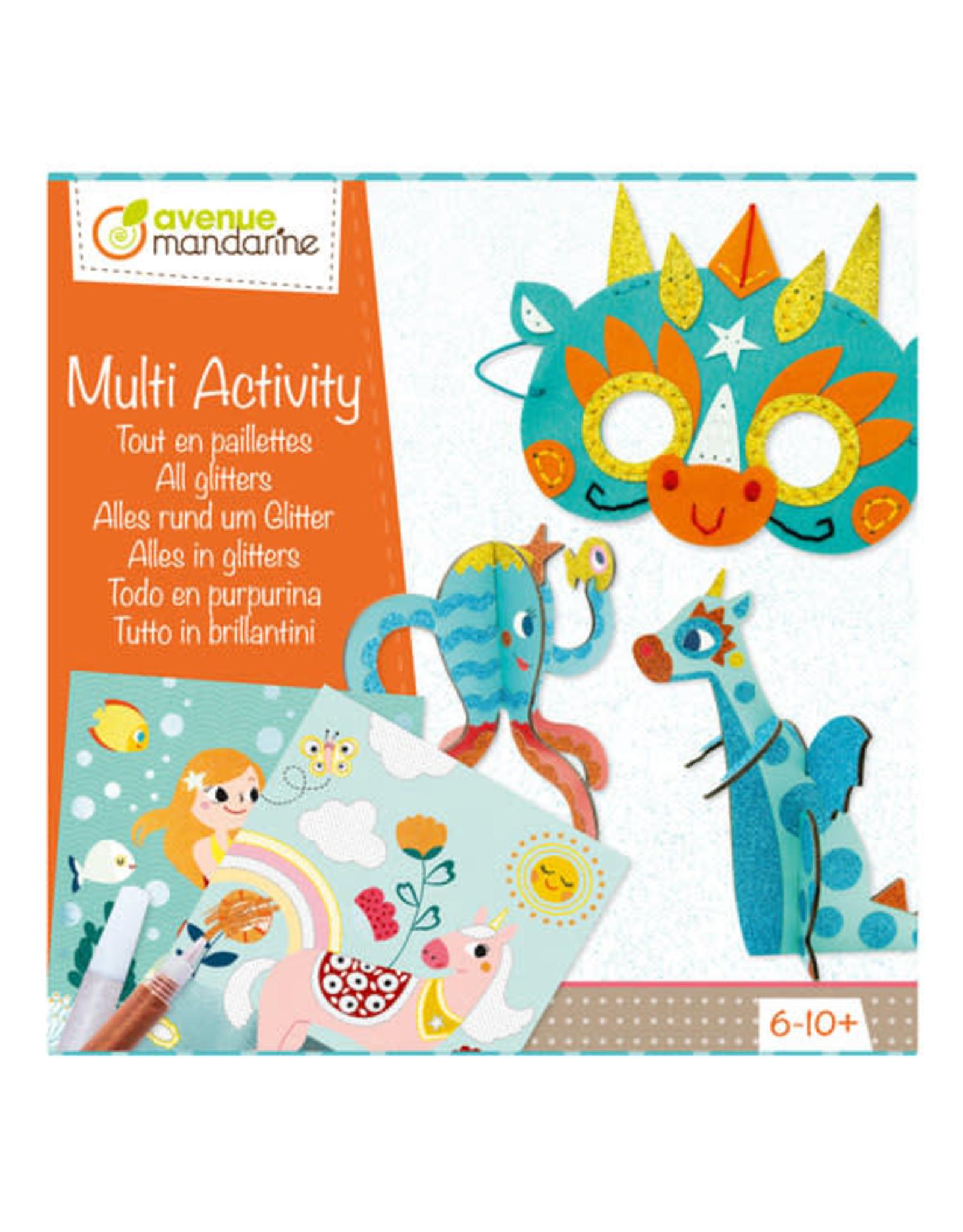 Avenue Mandarine Multi Activity Alles in Glitter