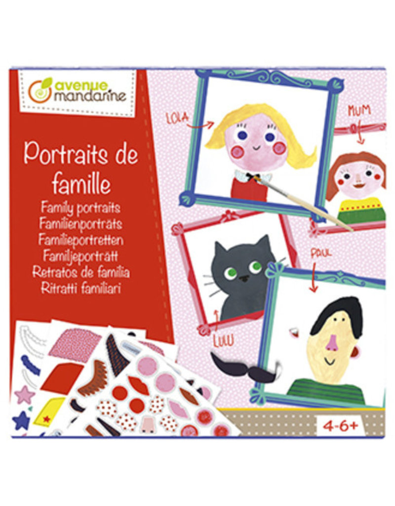 Avenue Mandarine Multi Activity Familieportretten