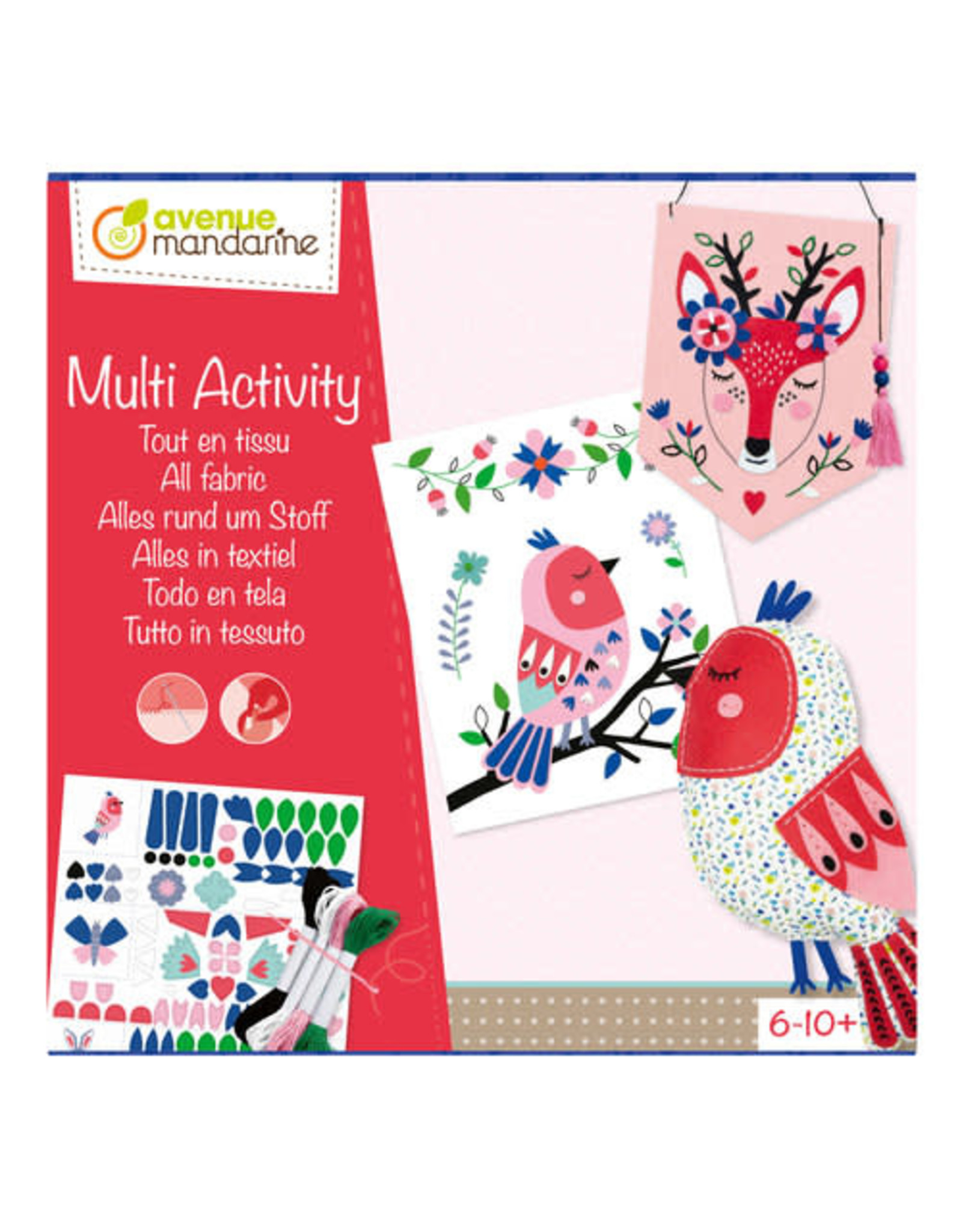 Avenue Mandarine Multi Activity Alles in Textiel