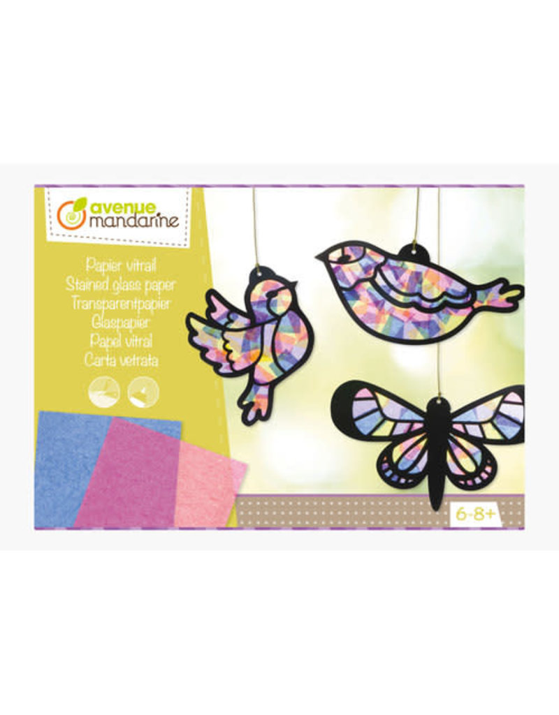 Avenue Mandarine Creatieve Box Glaspapier