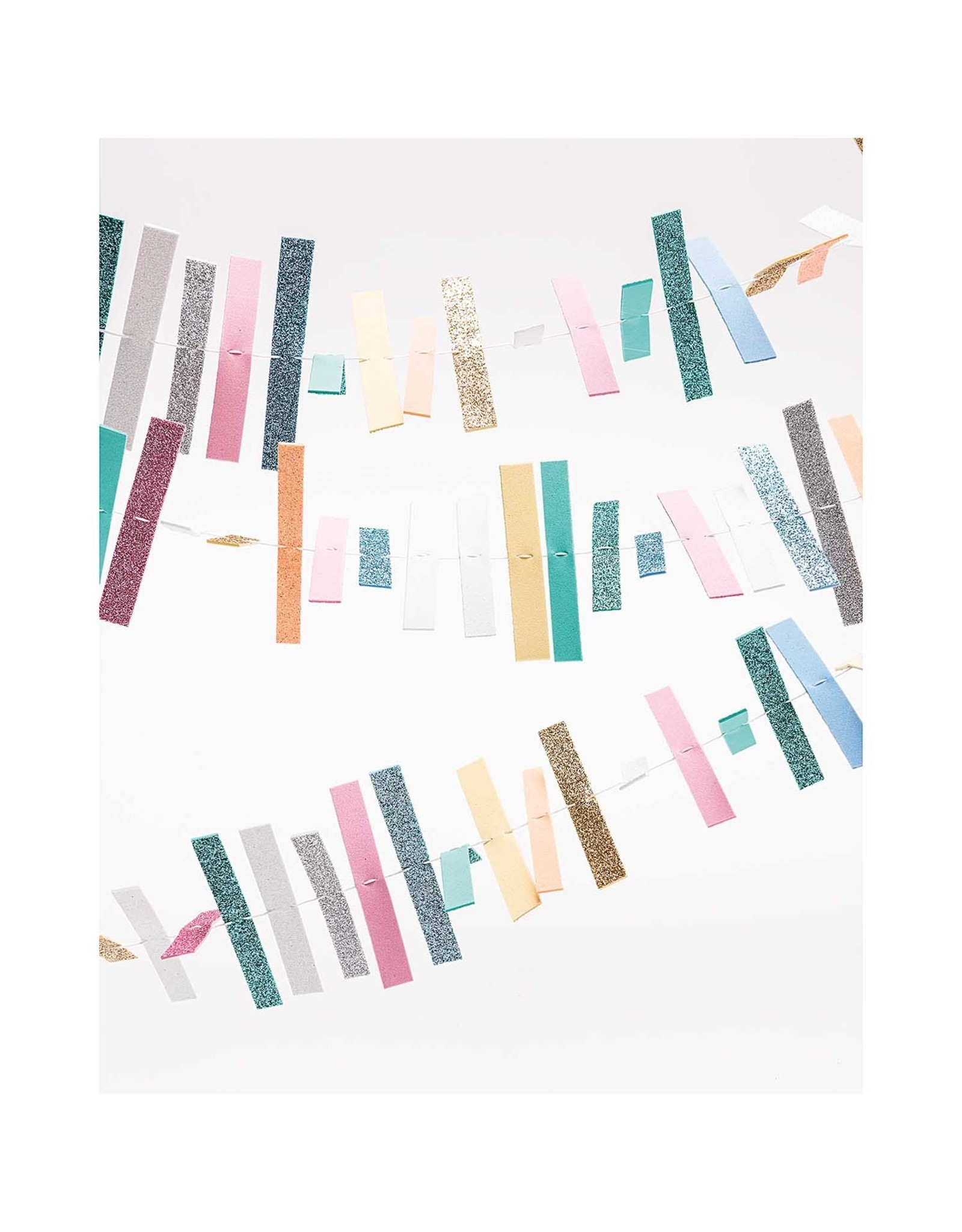 Rico Design Set crepla pastel/glitter