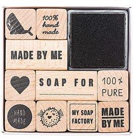 Rico Design Stempelset zeep