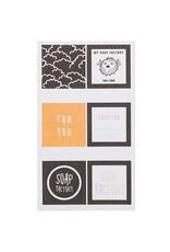 Rico Design Stickers zeep 4stk