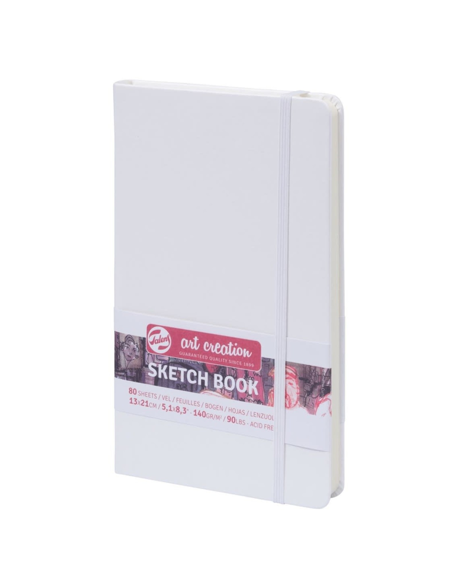 Art Creation Sketch book 13x21cm - 140gr wit