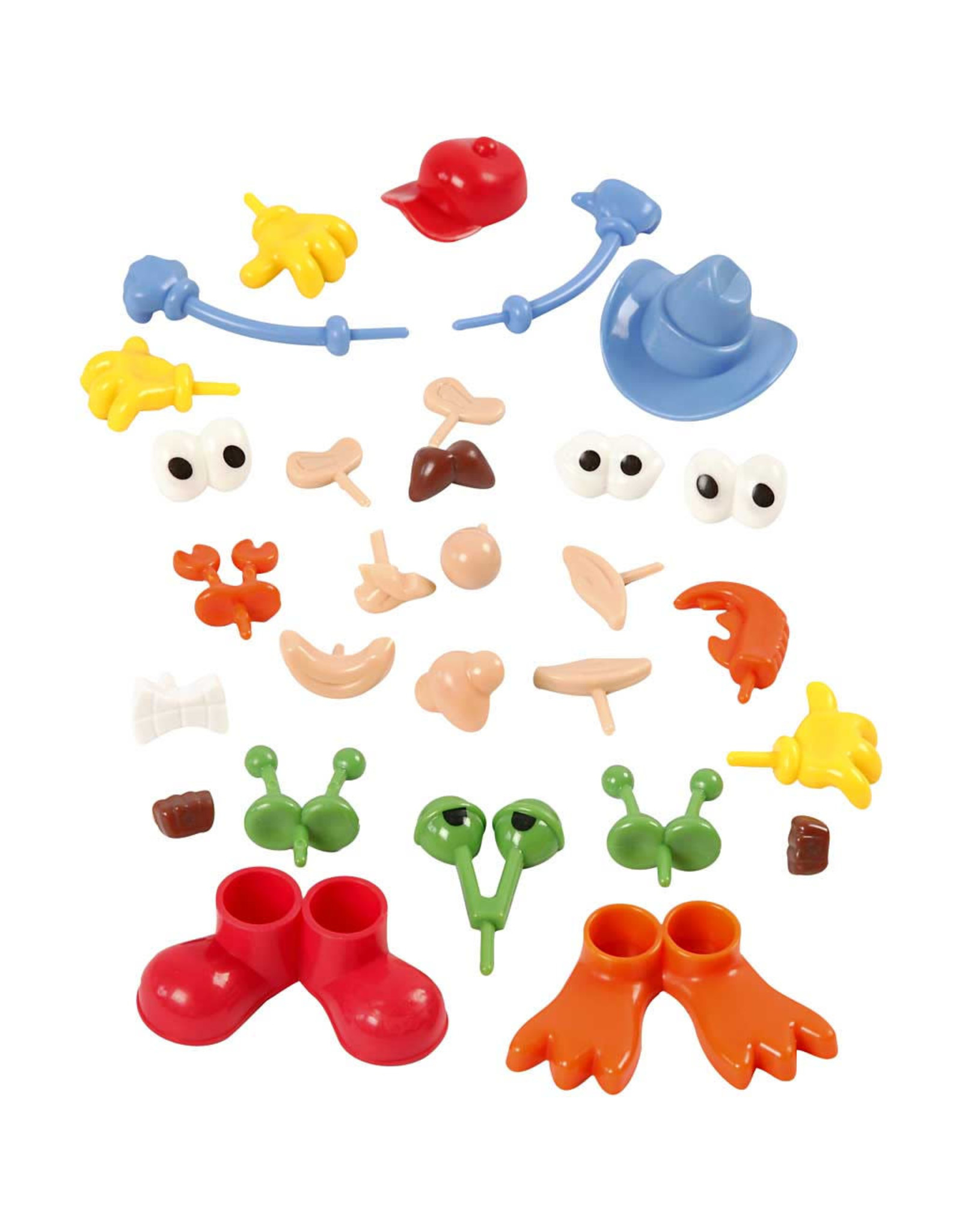 Creativ Company Lichaamsdelen silk/foam clay