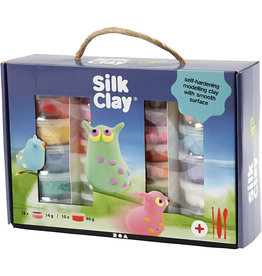 Creativ Company Silk clay set kleuren assorti