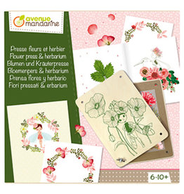 Avenue Mandarine Bloemenpers & herbarium