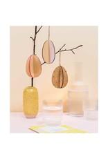 Rico Design Hout eieren 3D set klein