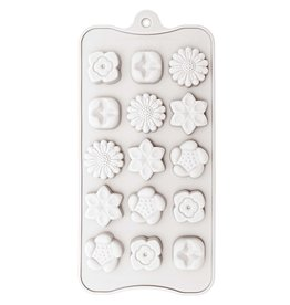 Rico Design Silicone vorm - bloemen