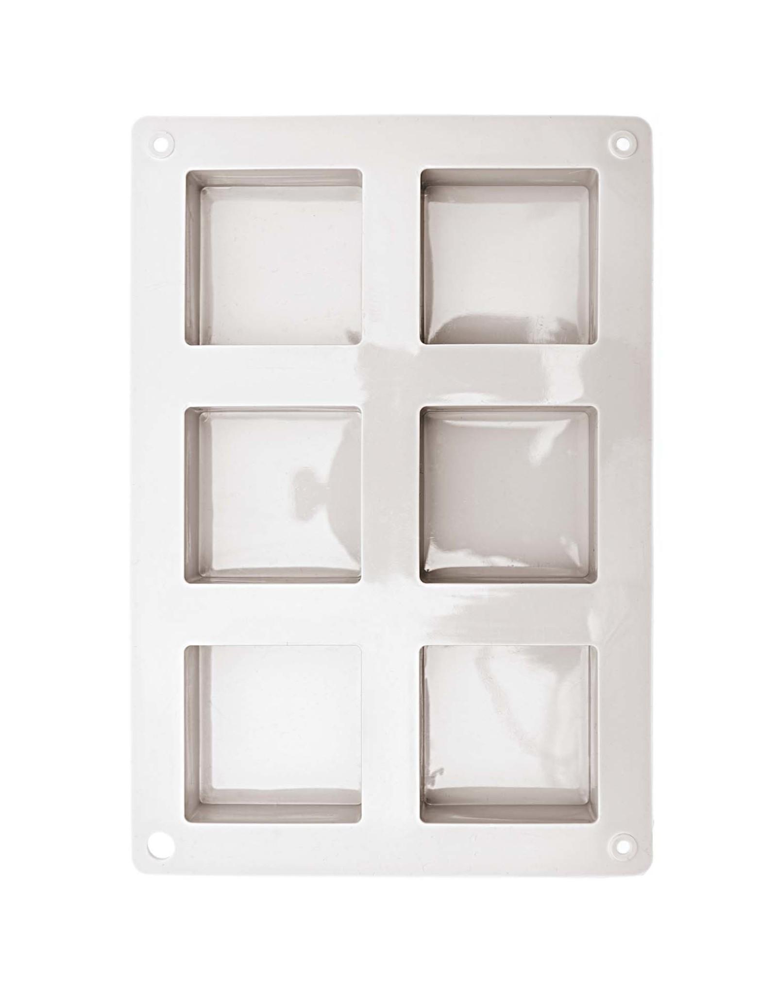 Rico Design Silicone vorm - vierkant