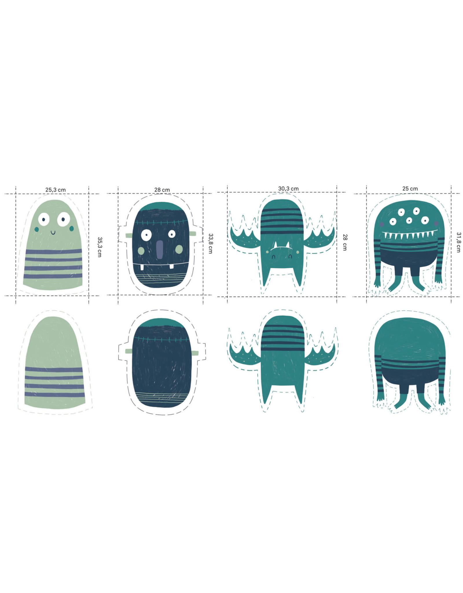 Katia DIY kussenset Monsters