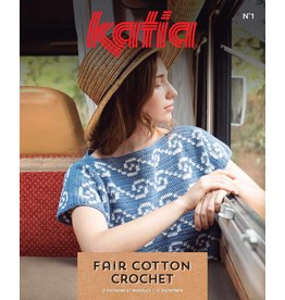 Katia Boek - Fair cotton crochet 1