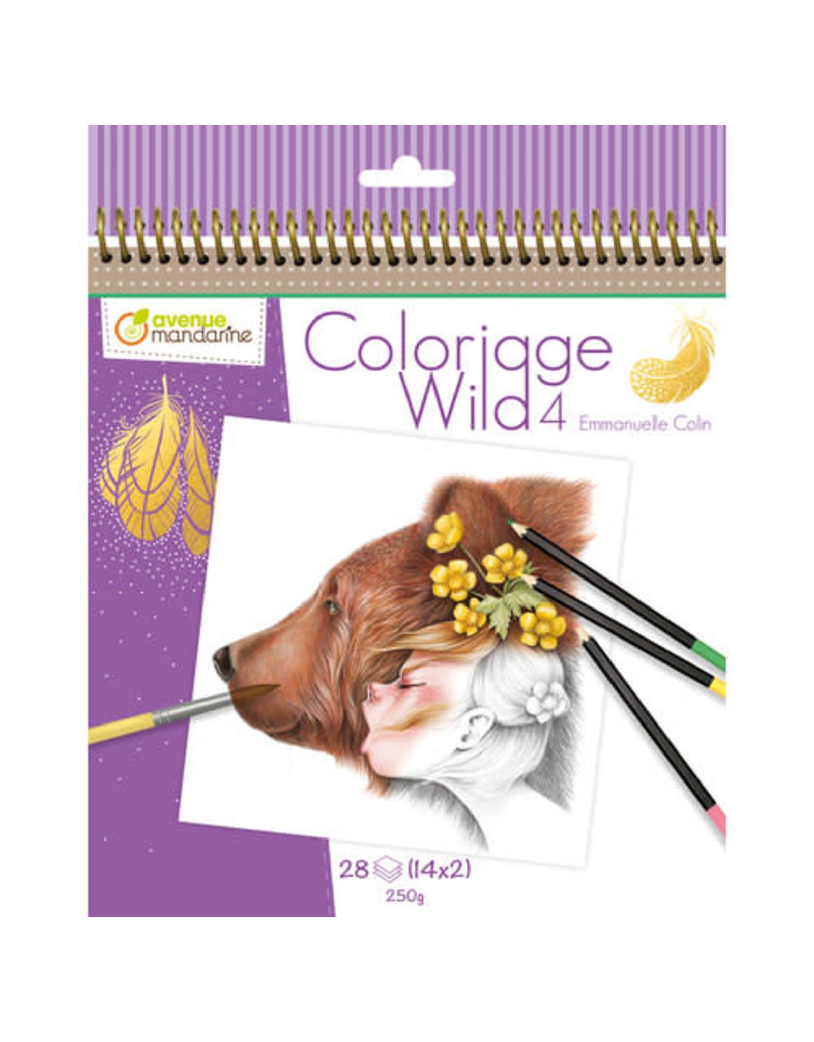 Avenue Mandarine Kleurboek E. Colin Wild 4