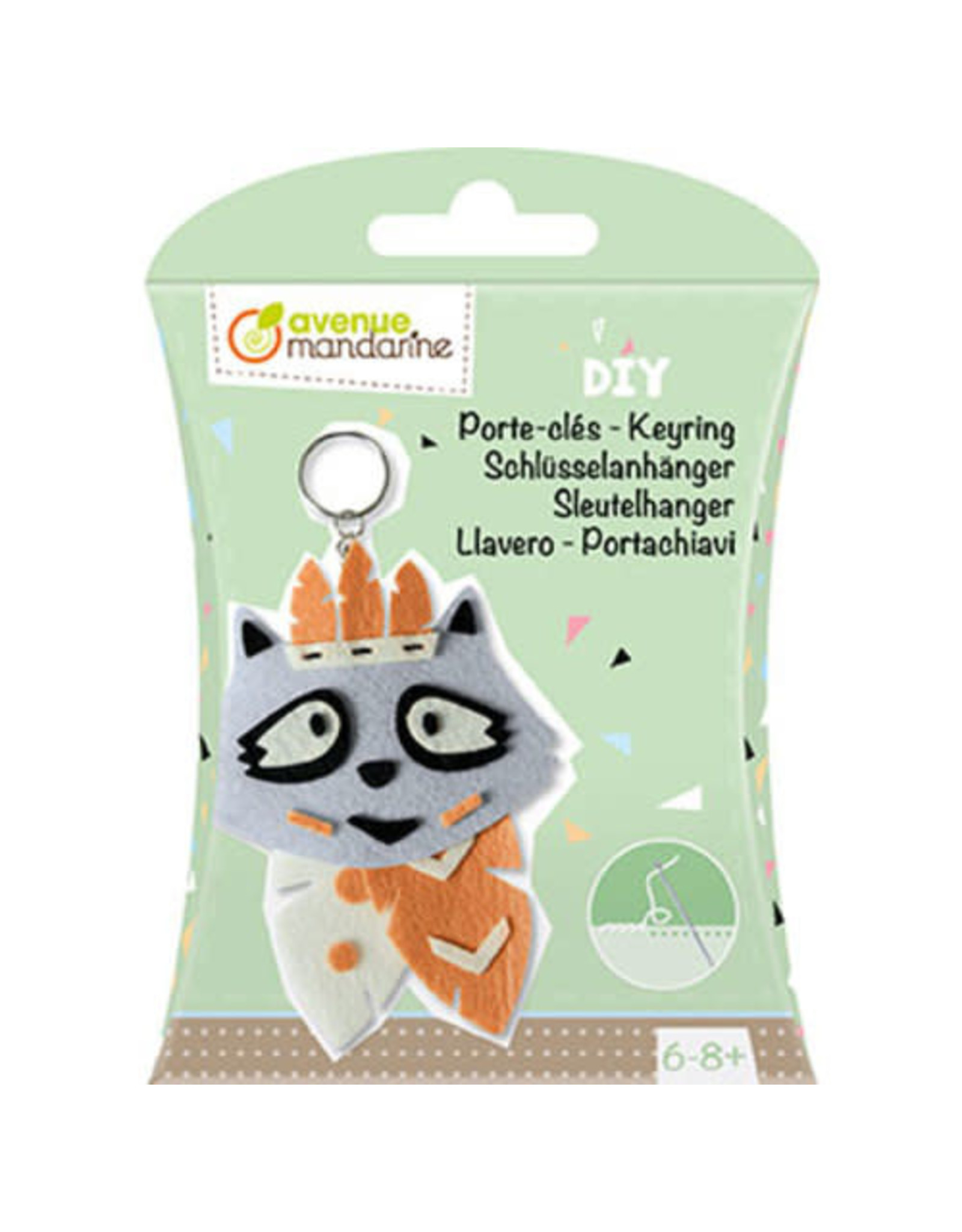 Avenue Mandarine DIY box - sleutelhanger