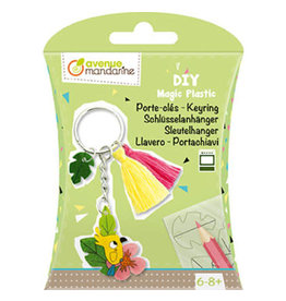 Avenue Mandarine DIY box - krimpfolie sleutelhanger