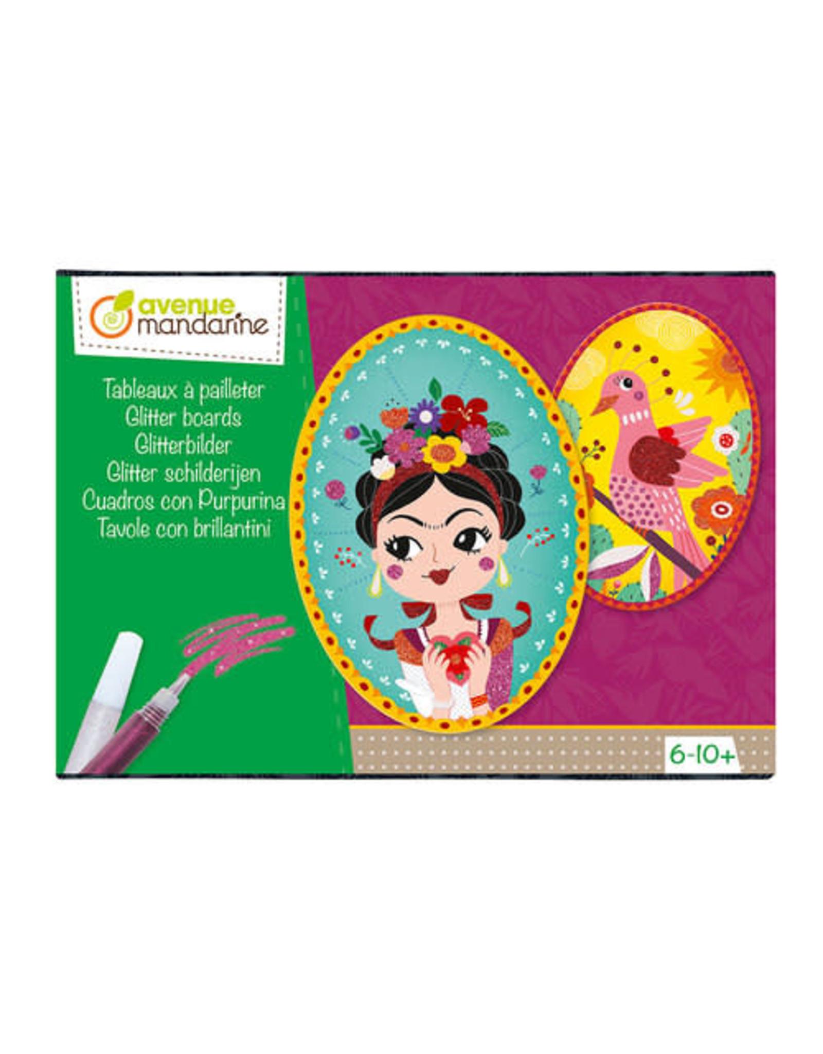 Avenue Mandarine Creatieve box Glitter schilderijen