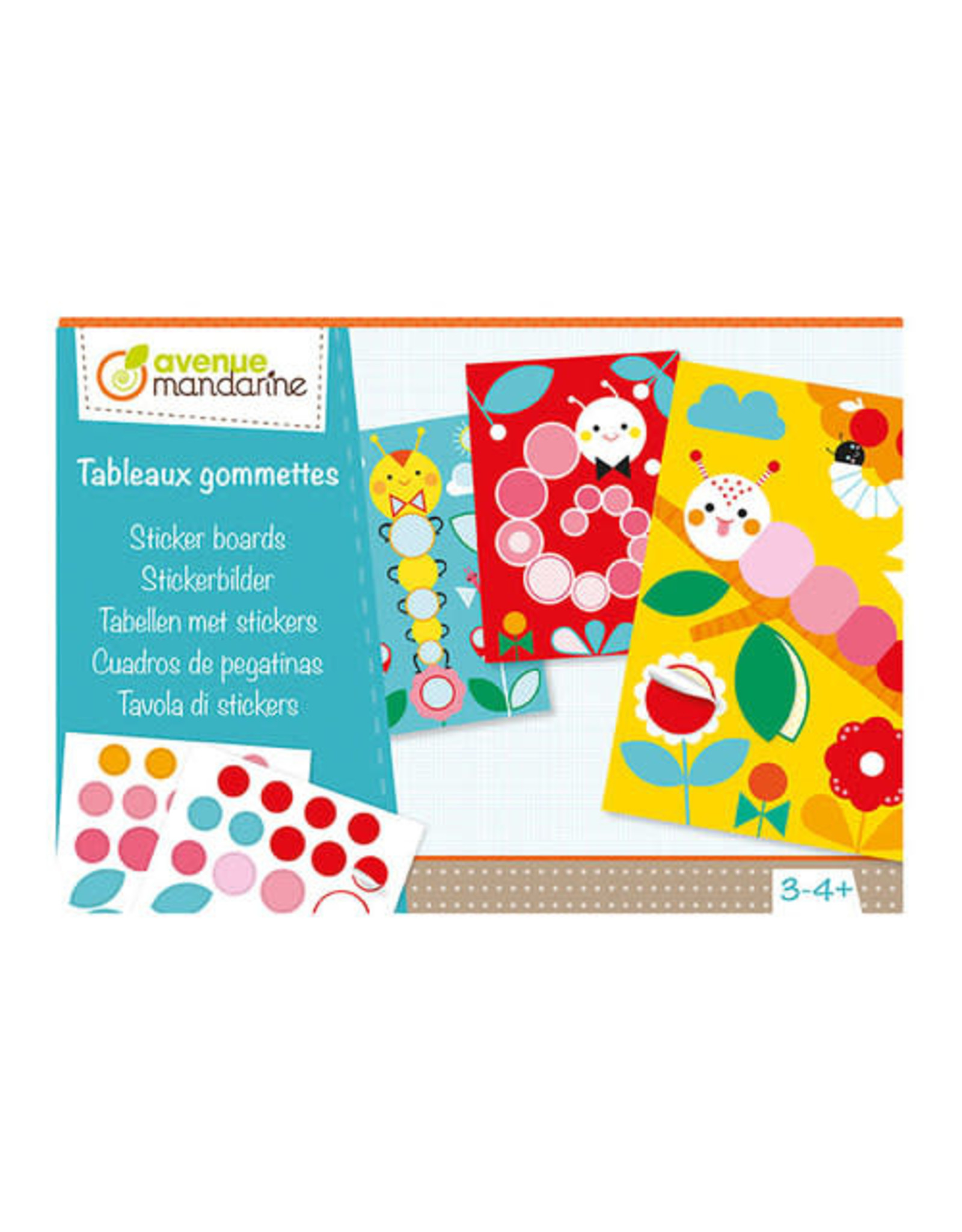 Avenue Mandarine Sticker boards