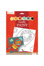 Avenue Mandarine Graffy paint - beer ruimte 20x20cm
