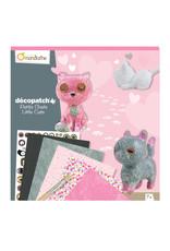 Avenue Mandarine Creatieve box - décopatch kleine katjes