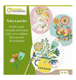 Avenue Mandarine Creatieve box - Doeken om te schilderen