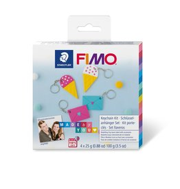 Fimo set Fimo soft DIY Sleutelhanger