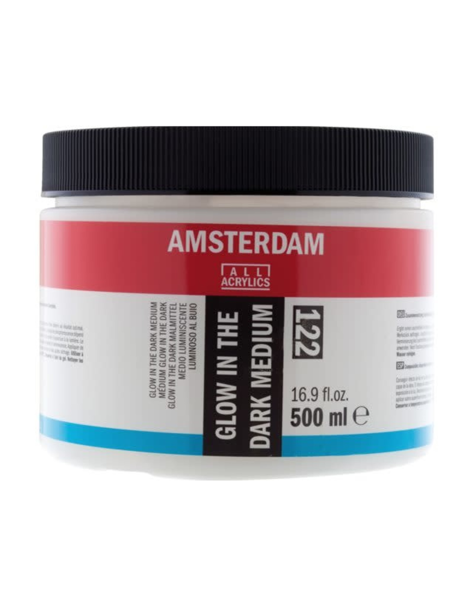 Amsterdam Glow in the dark medium 500ml