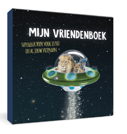 Enfant terrible Vriendenboek space