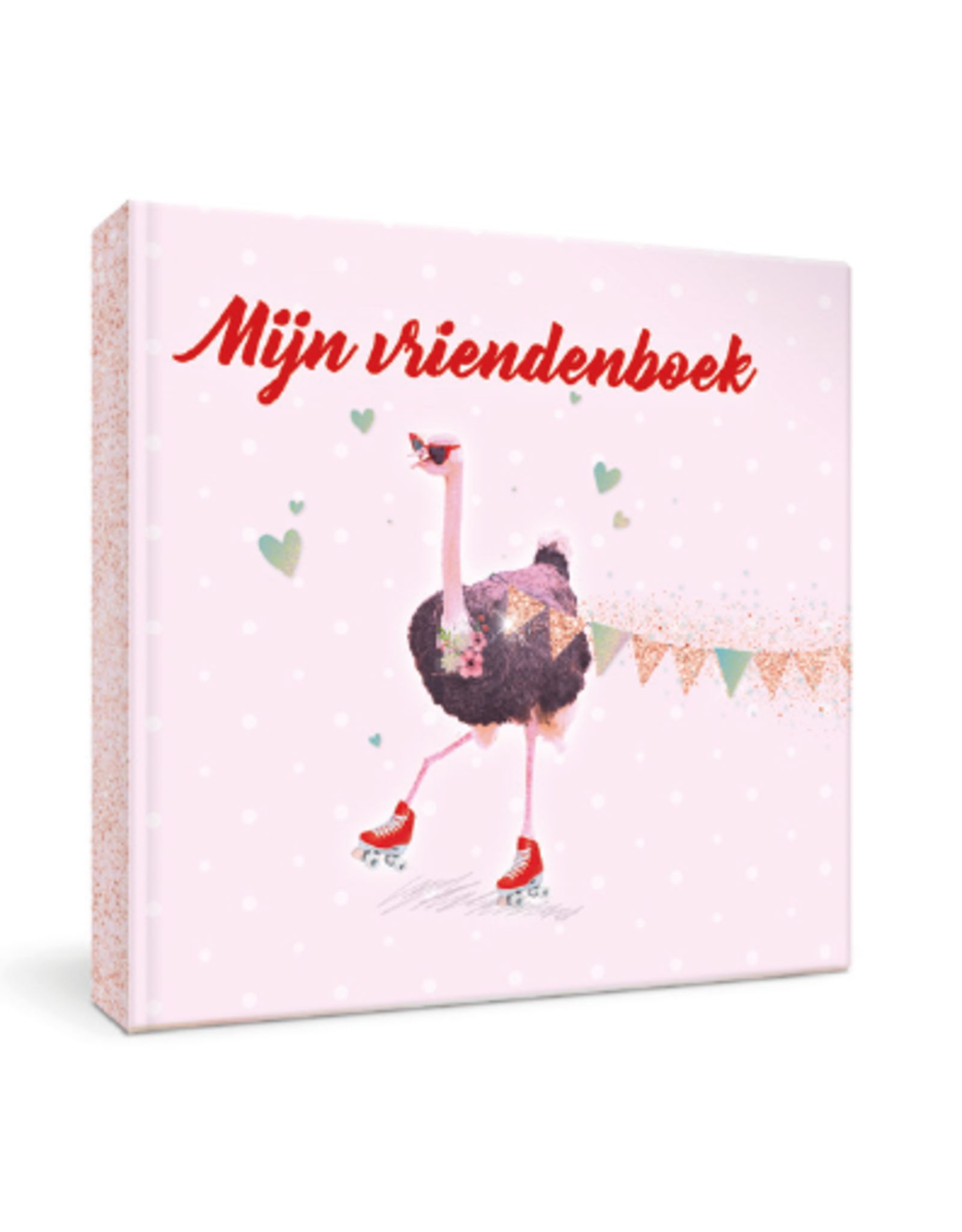 Enfant terrible Vriendenboek struisvogel