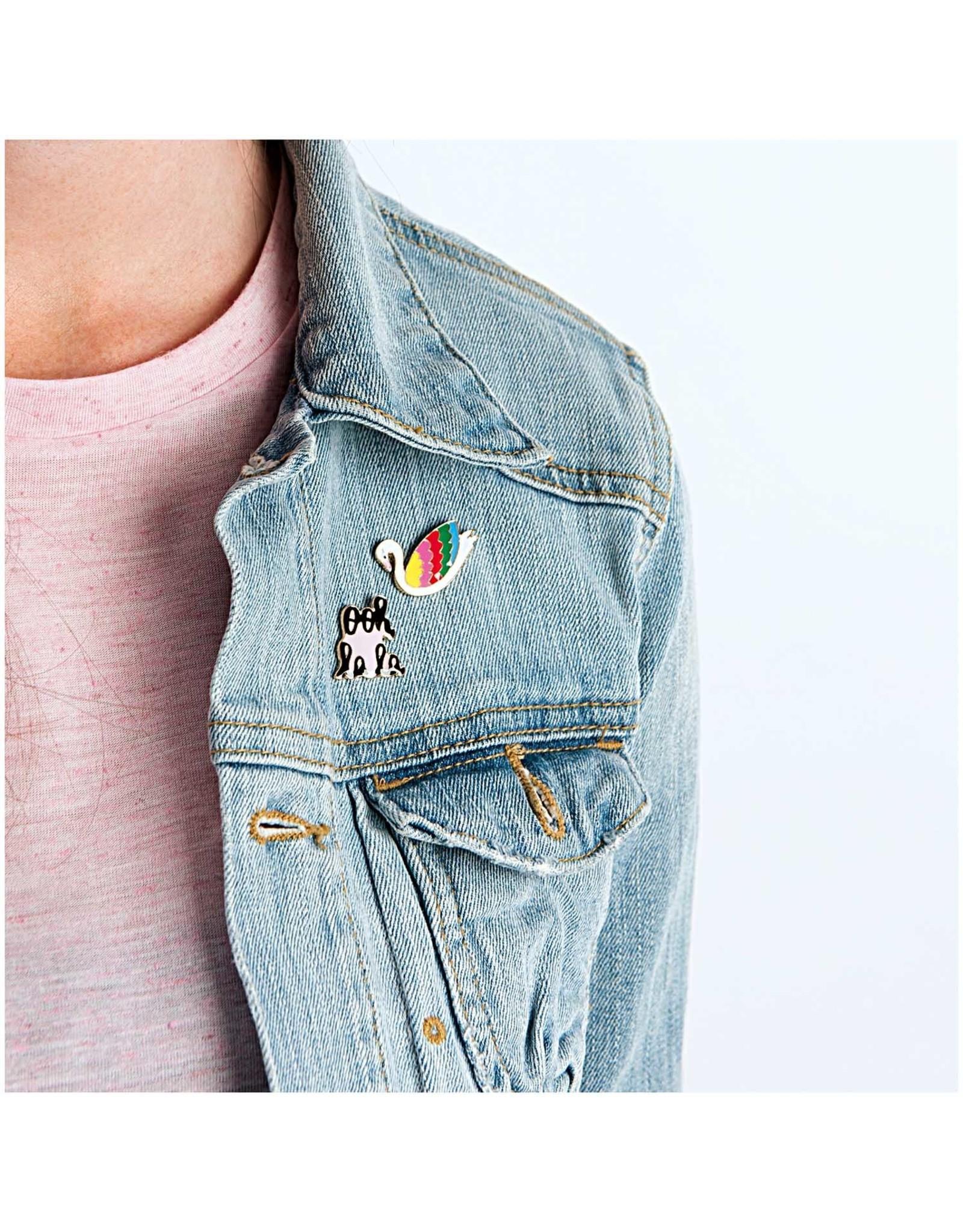 Rico Design Pins ooh la la 20x24mm