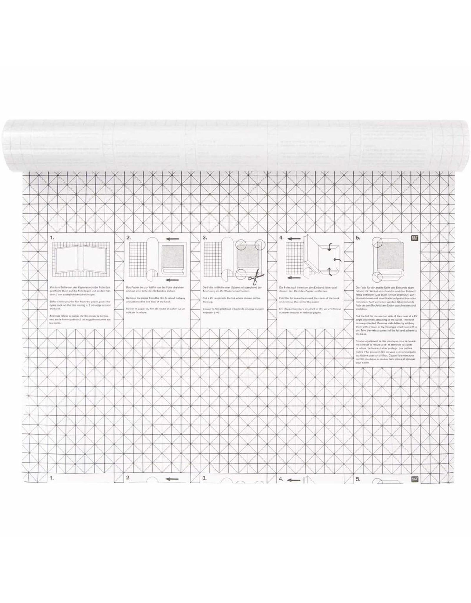 Rico Design Zelfklevende boekenfolie 200x45cm