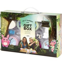 Creativ Company Gift box bosdieren met foam clay