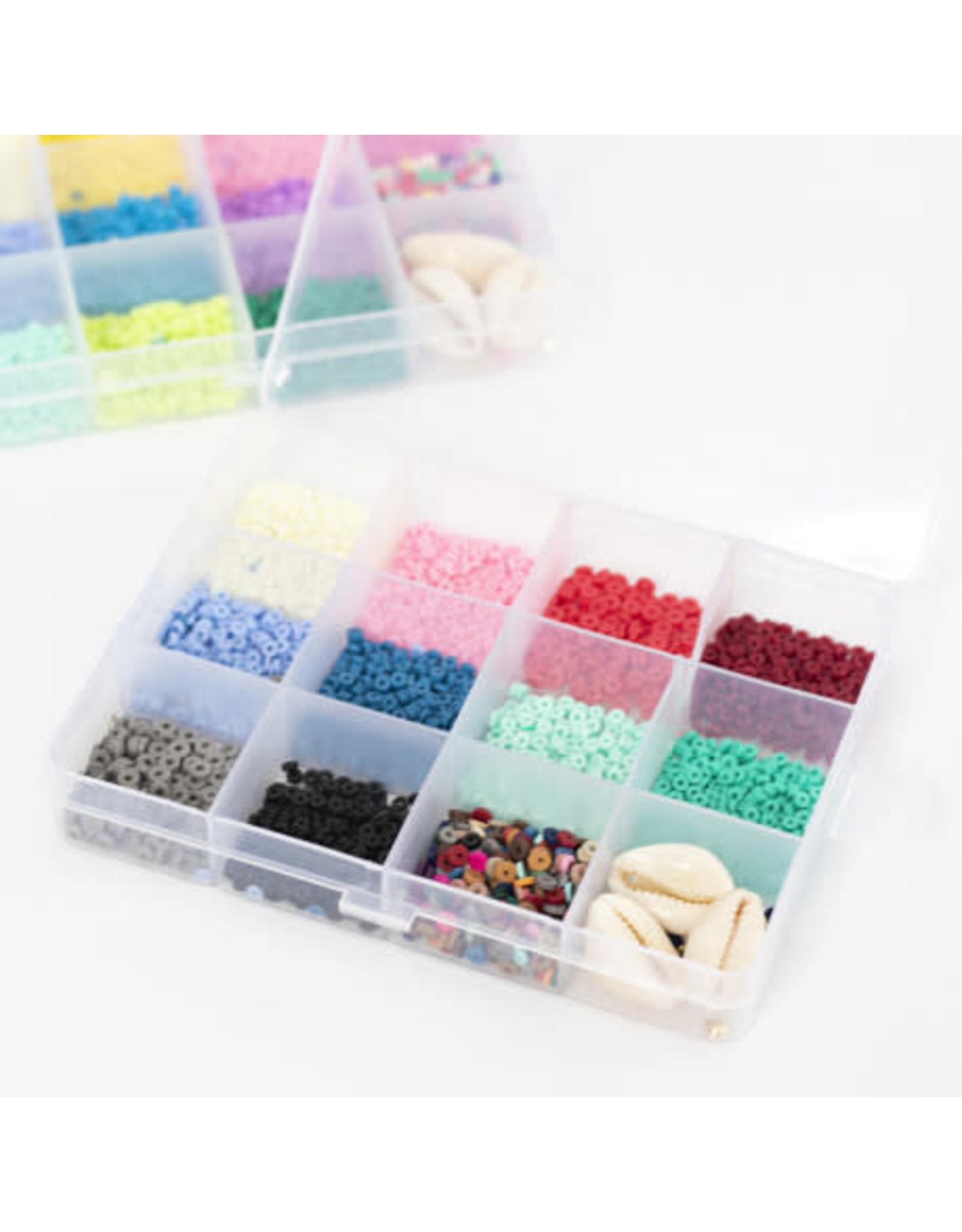 La petite épicerie Set heishi kralen 3mm 11 kleuren