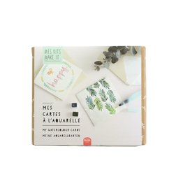 La petite épicerie DIY kit Mijn aquarel kaarten
