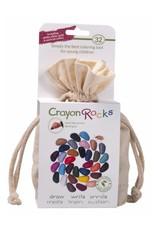 Crayon Rocks 32 crayon rocks in katoen zakje