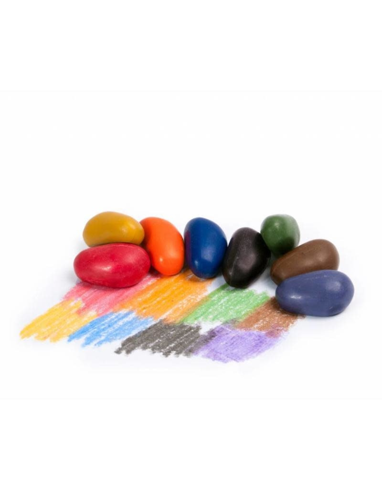 Crayon Rocks 8 crayon rocks in katoenen zakje