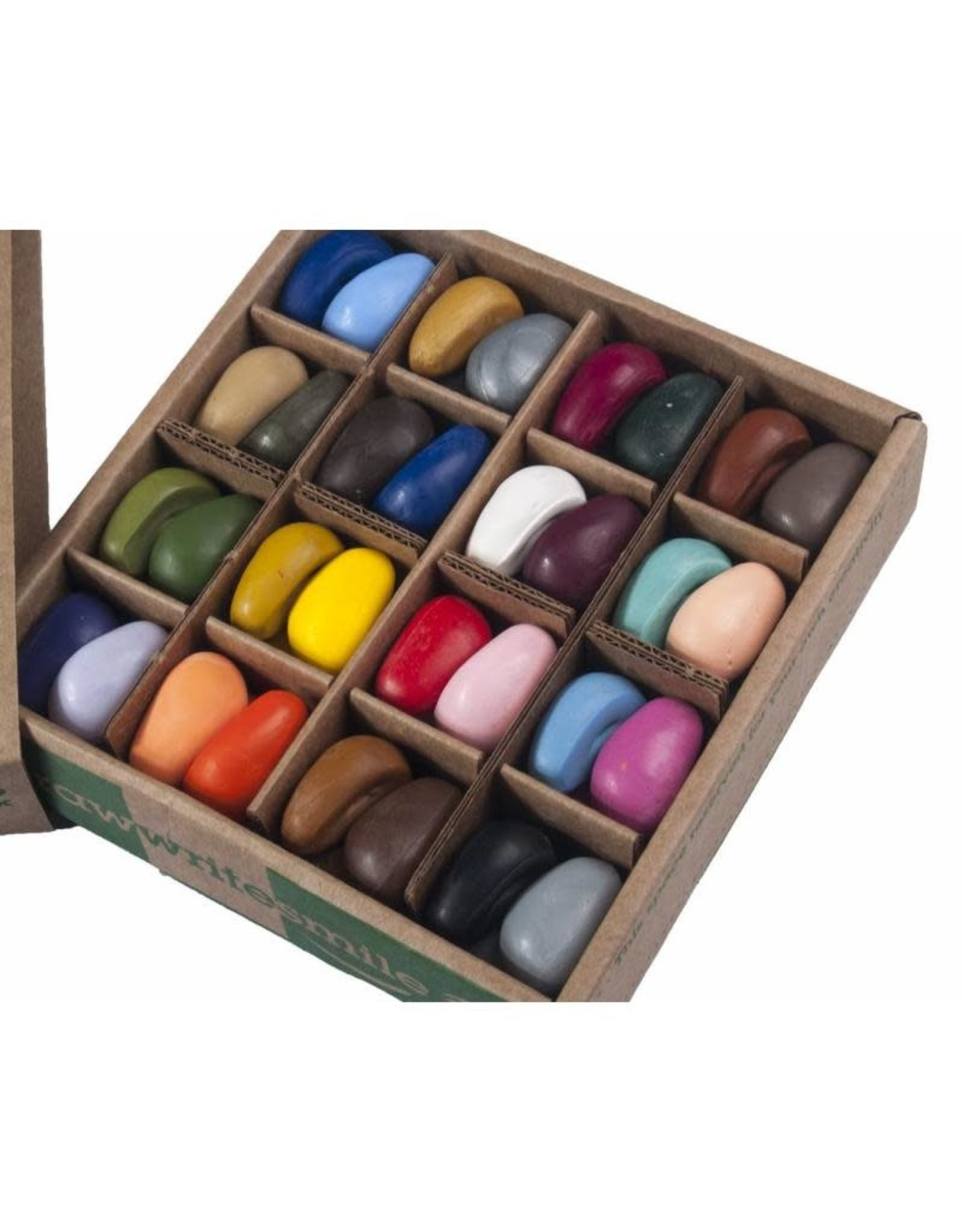 Crayon Rocks Just rocks in a box 32 kleuren, 64 krijtjes