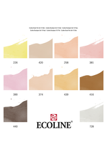 Talens Ecoline brushpen set 10 huid