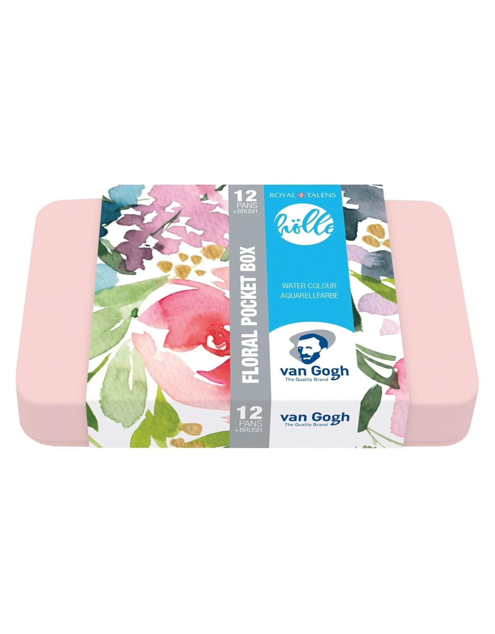 Van Gogh Aquarelverf Pocket Box 12 napjes - frau holle
