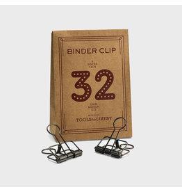 Tools to liveby Binder Clip 32BZ