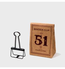 Tools to liveby Binder Clip 51bz