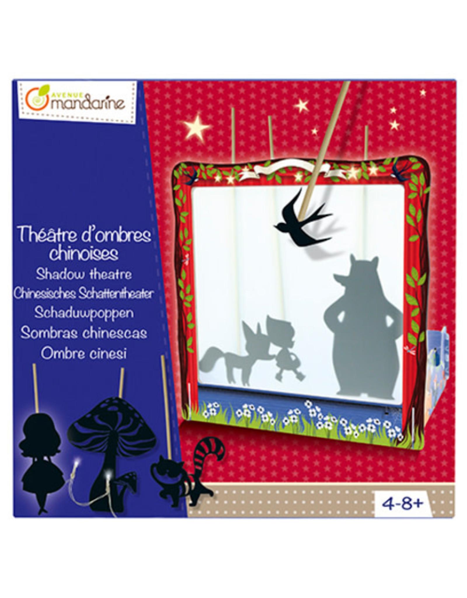 Avenue Mandarine Creatieve box schaduwpoppen theater